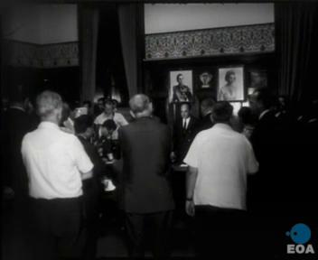 « Conférence de presse de Georgios Papadopoulos au sujet de la tentative d'assassinat de la part d'Alekos Panagoulis » (4 août 1968-16 août 1968)